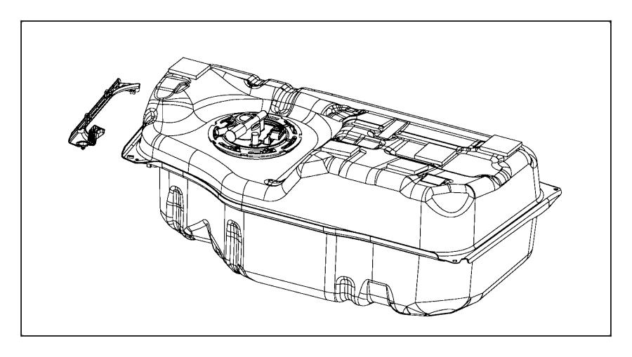 2017 Chrysler PACIFICA L HYBRID Bracket. Fuel line. [17