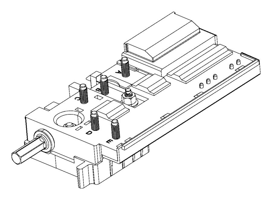 Chrysler Voyager Fuse box. Pre fuse. Center, distribution