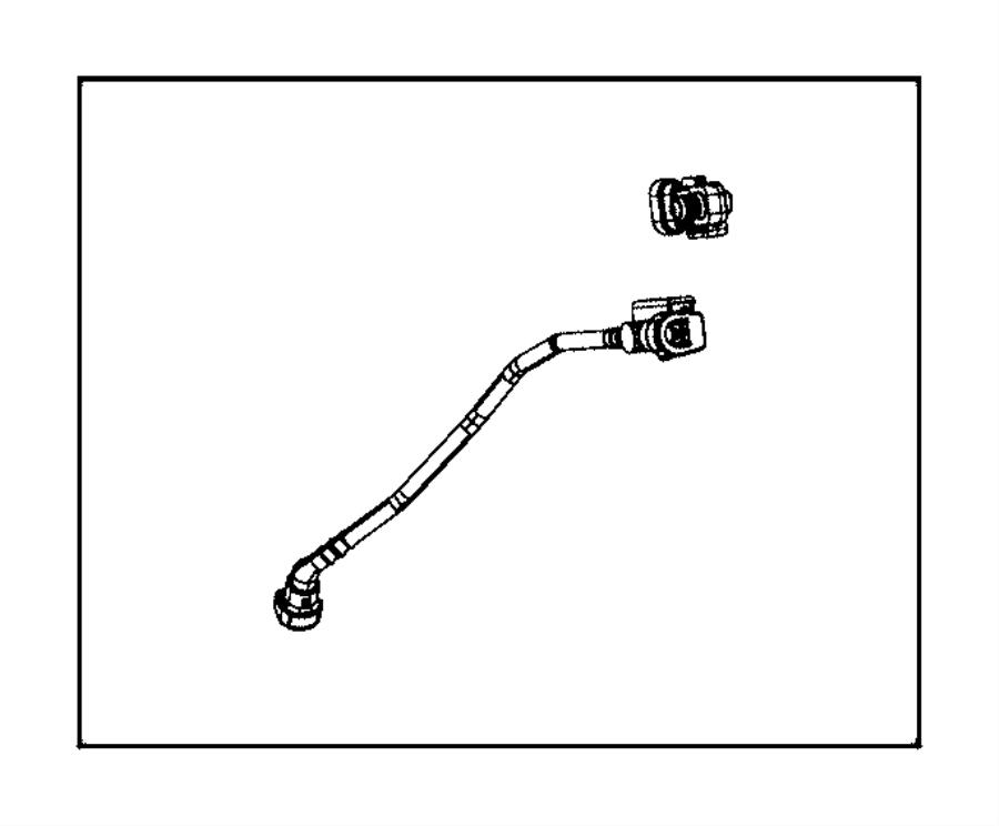 Chrysler 200 Tube. Fuel vapor recirculation. Emissions