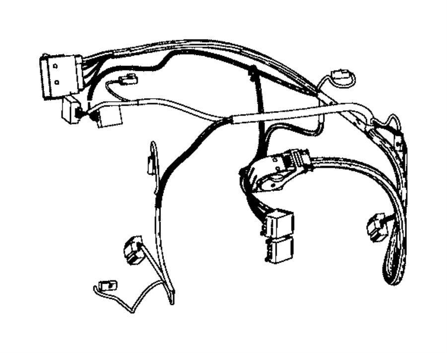 Chrysler 200 Wiring. Used for: a/c and heater