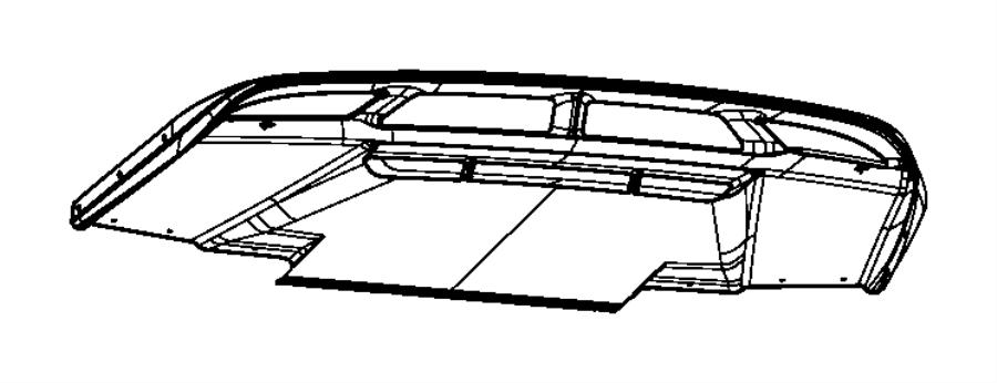 Dodge Viper Panel. Diffuser. Rear fascia. Lamps, fog