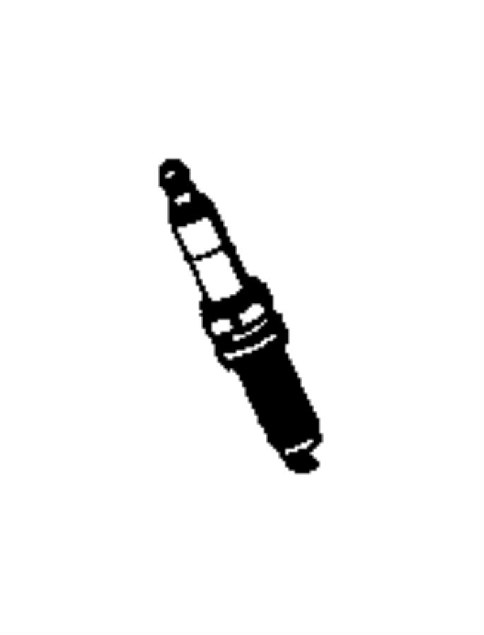 2016 Jeep Grand Cherokee Spark plug. Plugs, ignition