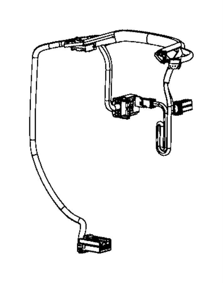 Chrysler Pacifica Wiring. Steering wheel. [steering wheel