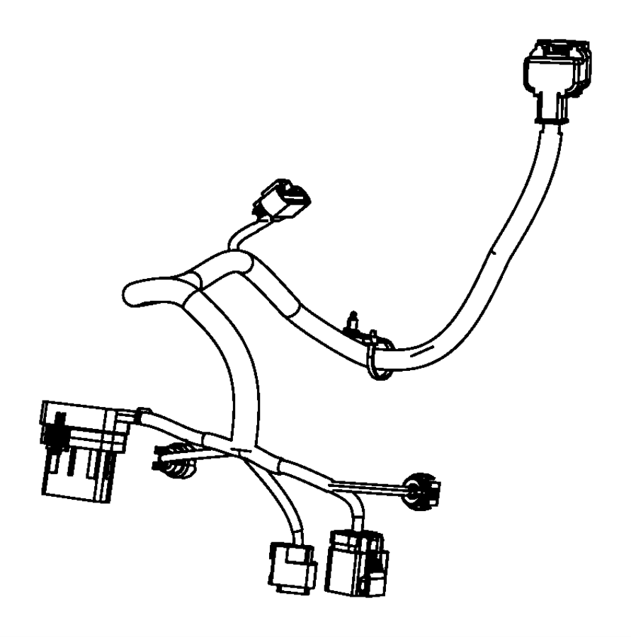 2012 Dodge Journey Wiring. Engine, transmission. Export