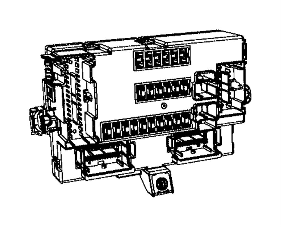 2017 Jeep Cherokee Module. Body controller. Export