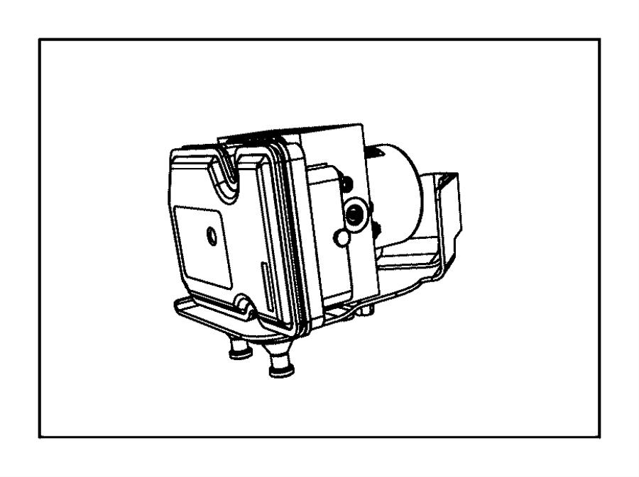 Jeep Cherokee Control unit. Anti-lock brake. [adaptive