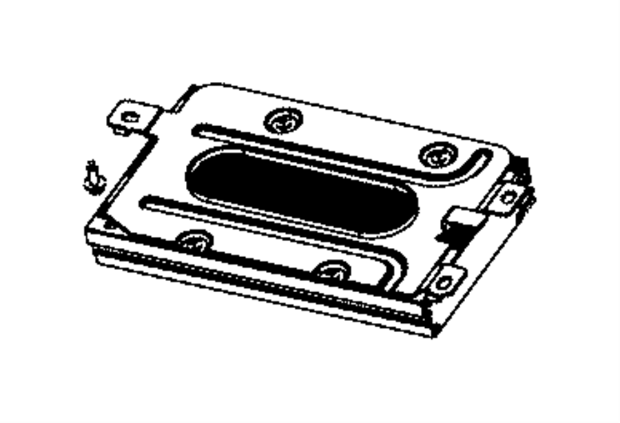 2015 Jeep Cherokee Amplifier. Speakers, amplified, module