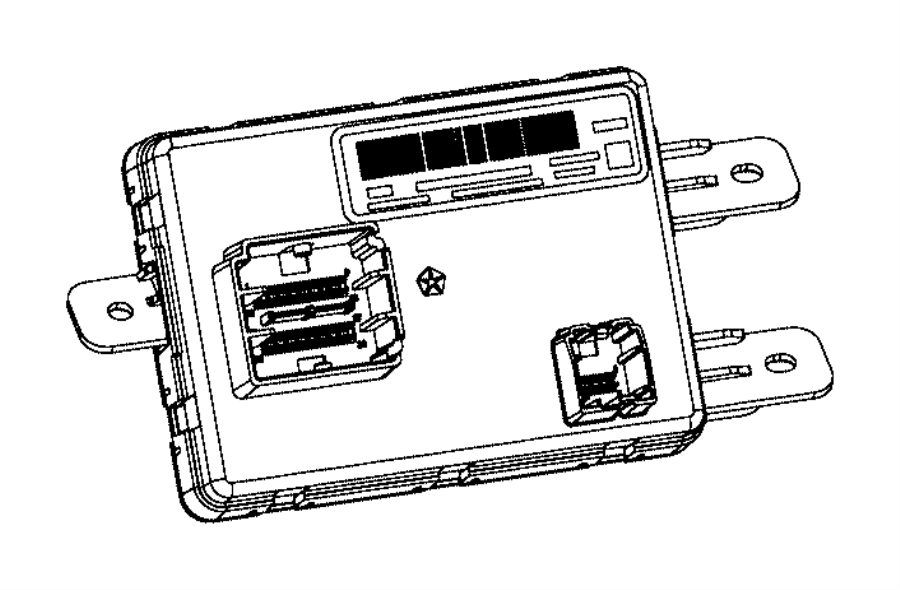 Chrysler 200 Module. Used for: a/c and heater. [instrument