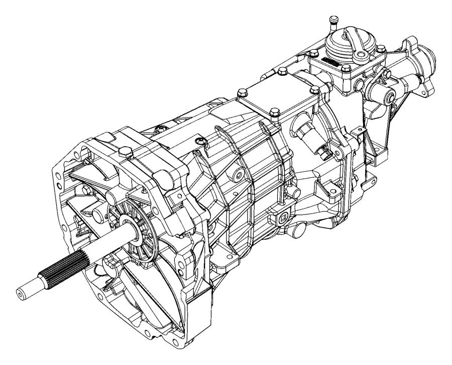 2015 Dodge Viper Trans. Transmission, transaxle