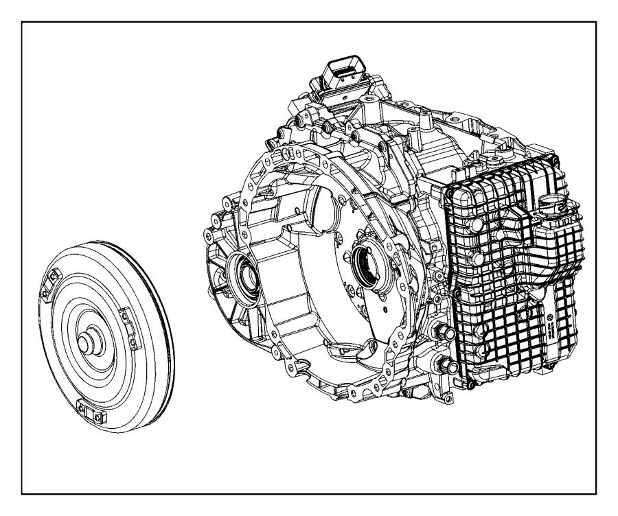 2015 Chrysler 200 Converter kit. Torque. Module, power
