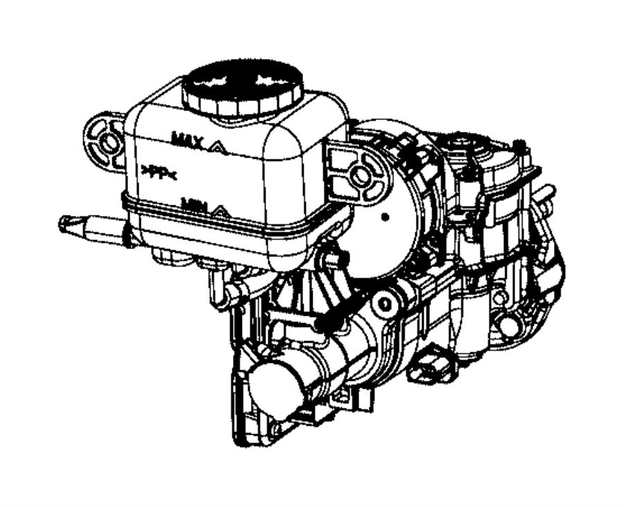 Chrysler PACIFICA L HYBRID Master cylinder. Brake. [anti