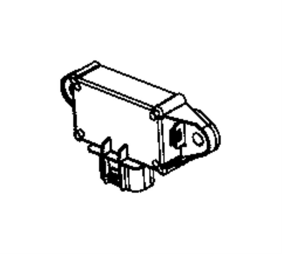 Jeep Wrangler Module. Fuel pump control. Body, tank