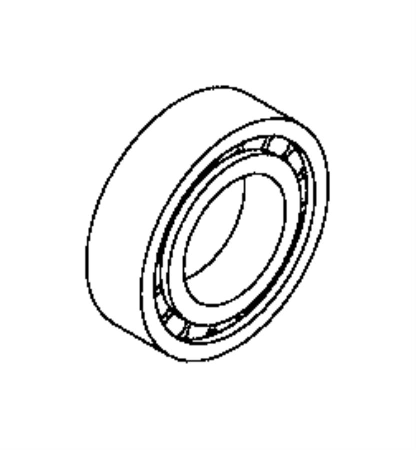 2017 Ram ProMaster City Bearing. Wheel. Brakes