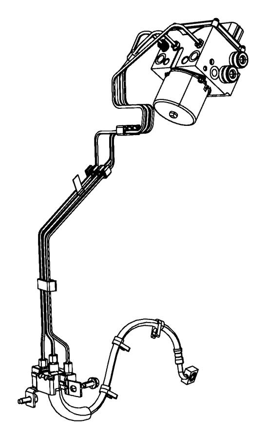 2017 Ram 2500 Module. Anti-lock brake system. [electronic