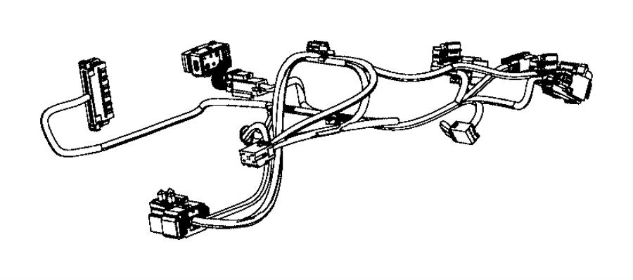 Ram 2500 Wiring. Seat cushion. Seats, front, module