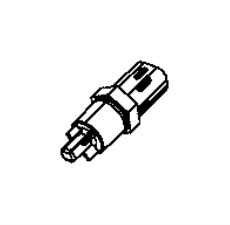 2014 Jeep Grand Cherokee Sensor. Oil pressure. Emissions