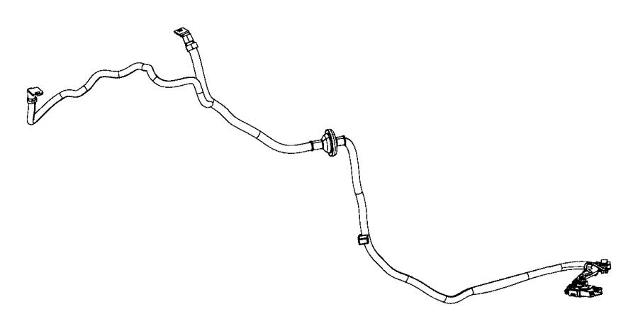 2017 Dodge Durango Wiring. Jump start. Positive cable