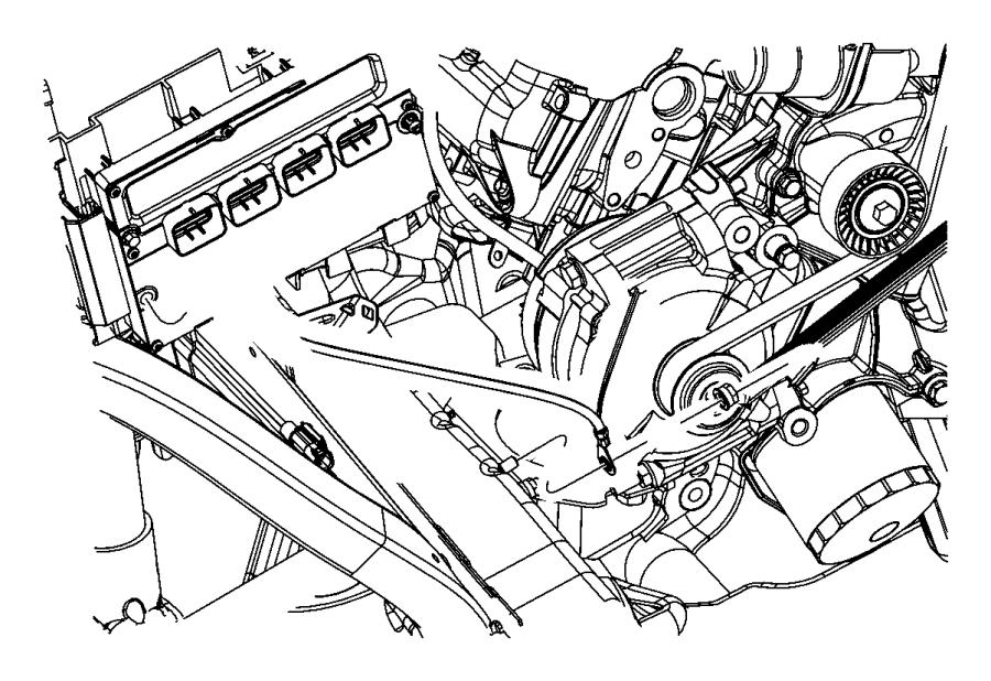 2012 Dodge Durango Strap. Ground. Engine, radio, ngc