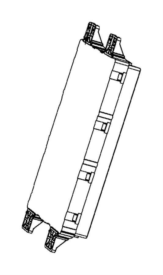 2017 Ram 1500 Module. Body controller. Modules
