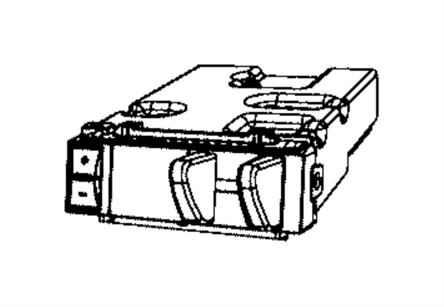 2016 Ram 5500 Module. Trailer tow. [instrument panel parts