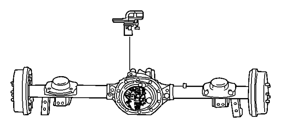 2016 Ram 5500 Sensor. Wheel speed. Rear. Axle, ratio