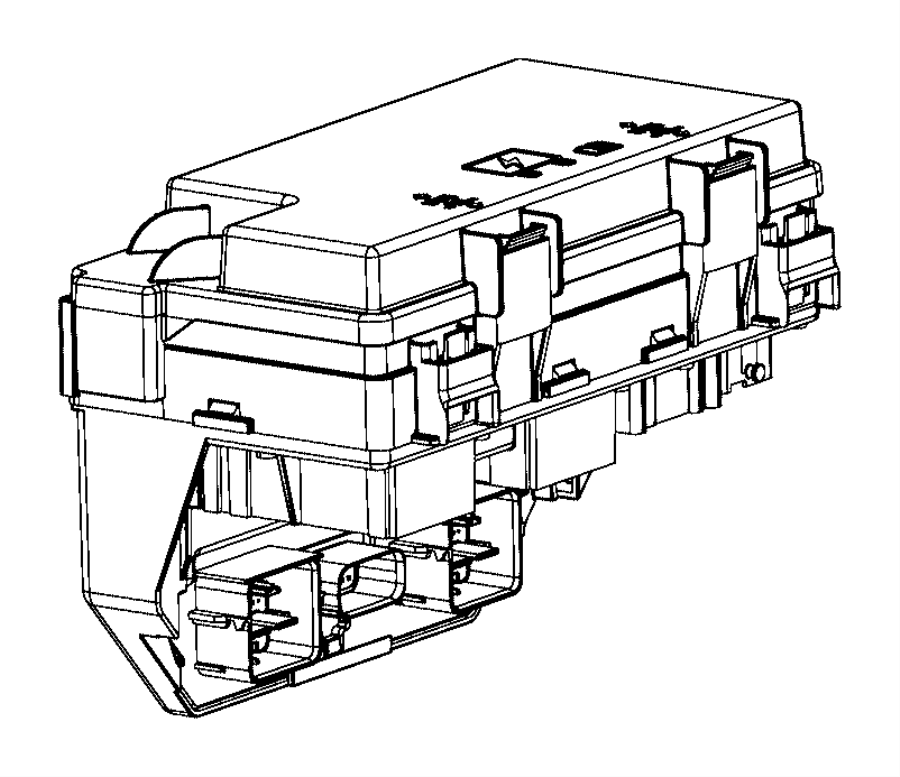 Dodge Grand Caravan Module. Totally integrated power