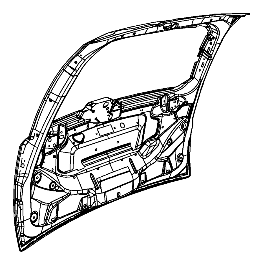 Chrysler Town Country Liftgate Parts Diagram