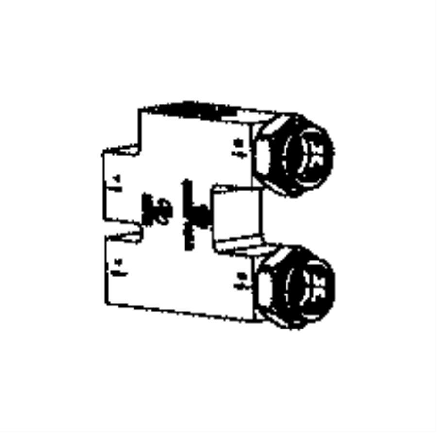 2014 Ram 2500 Valve. Cooler bypass. [dual alternators