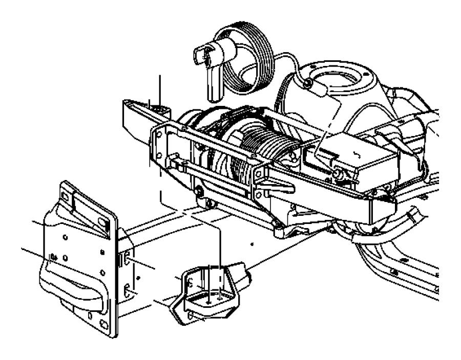 2009 Jeep Wrangler Remote control. Winch. Kit, model