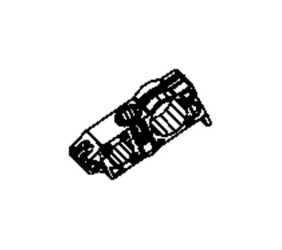 2013 Dodge Ram 1500 Clip. A/c line. [all vehicles w/air