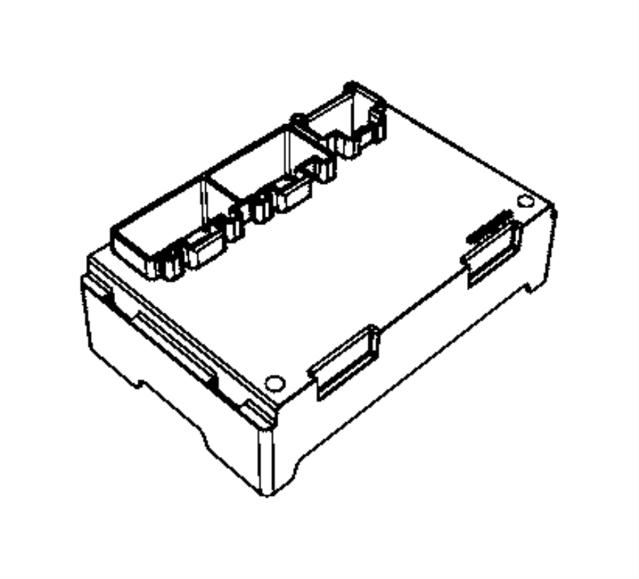 2016 Ram 3500 Module. Transfer case control. Shift, fly