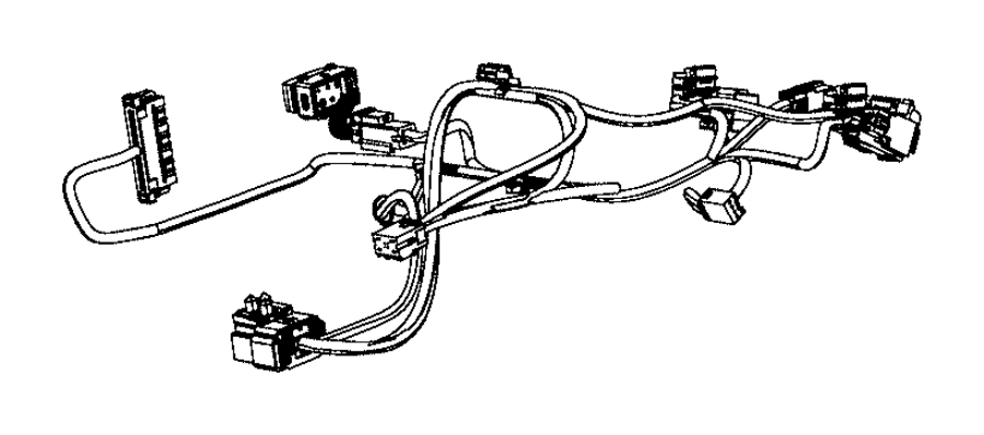 Ram 5500 Wiring. Seat cushion. Seats, front, module