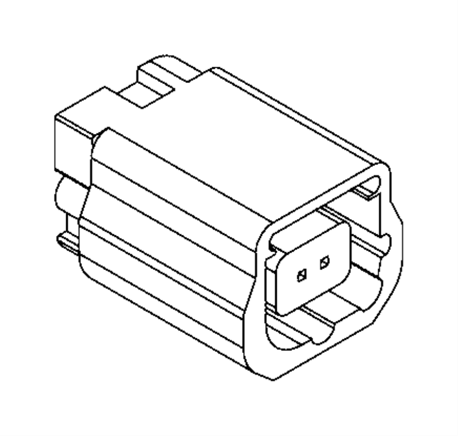 2016 Ram PROMASTER CITY WAGON SLT Connector. Electrical