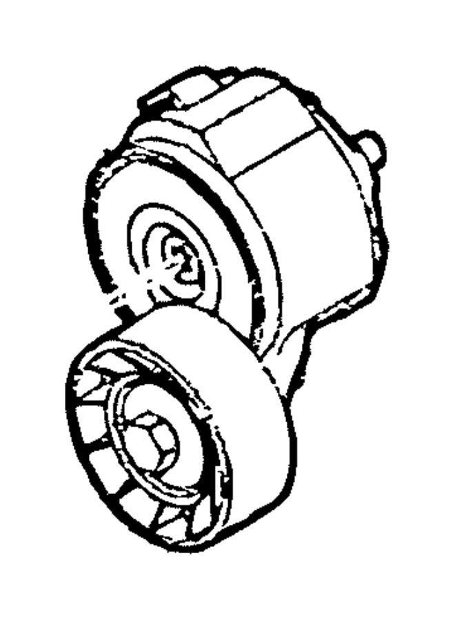 2017 Ram 1500 Tensioner. Belt. Heater, amp, alternator