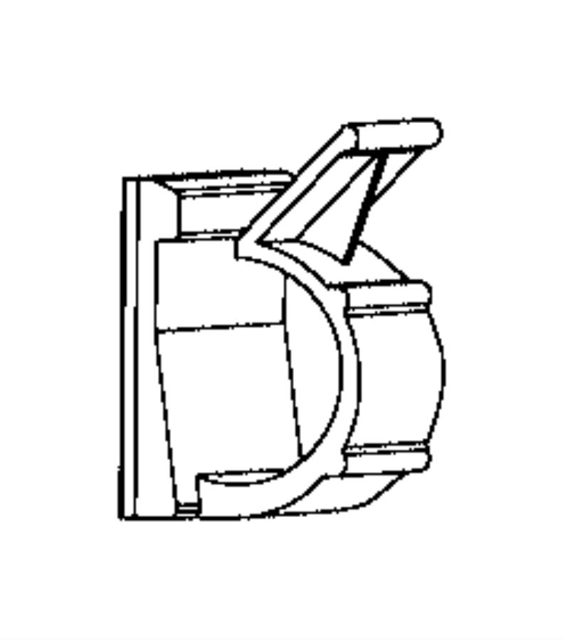 2016 Ram 2500 Clip. Wiring. Sensor, pillar, impact