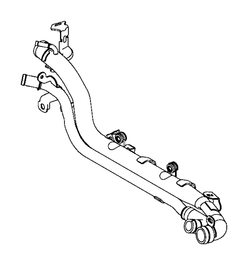 2017 Jeep Renegade Sensor. Temperature. Export. Coolant