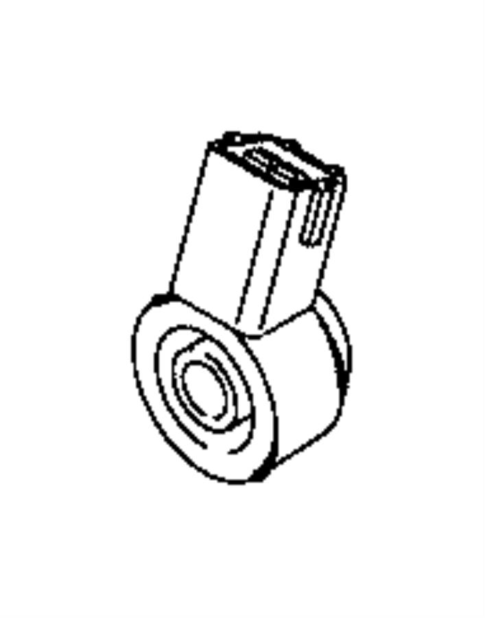 Dodge Dart Sensor. Knock. Export. [engine block heater