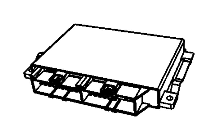 2016 Jeep Wrangler Module. Transmission control