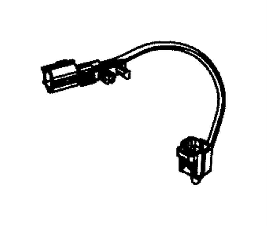 2016 Jeep Wrangler Wiring. Fuel water separator. [complete