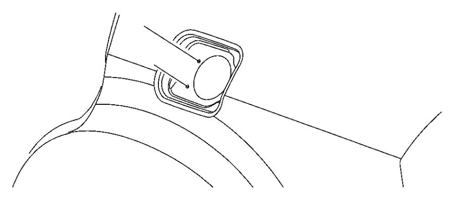 2012 Chrysler 300 Housing. Fuel filler. Door, pick, mopar