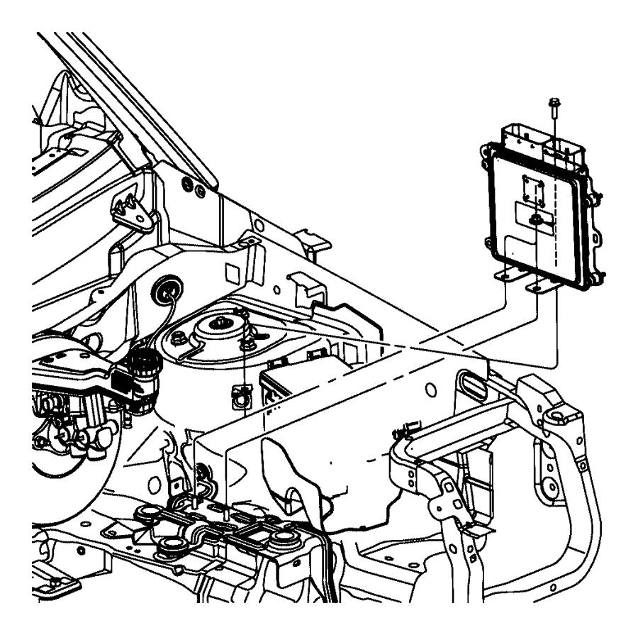 2015 Jeep Patriot Module. Powertrain control. Generic