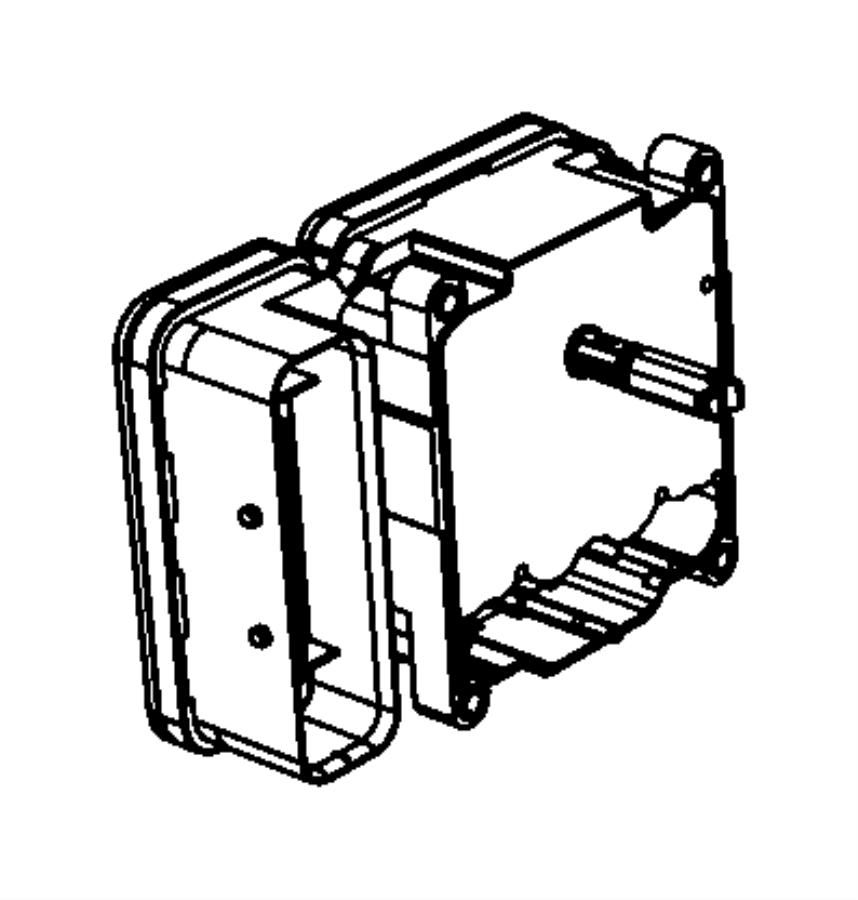 2017 Chrysler 300 Module. Anti-lock brake system