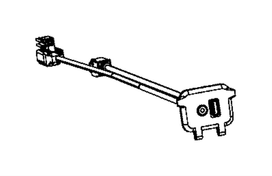 2013 Dodge Charger Wiring. Jumper. Module. [usb port for