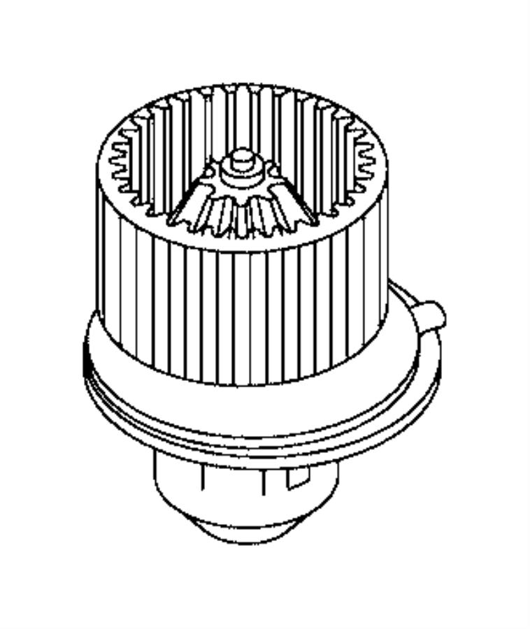 2016 Ram PROMASTER CITY WAGON SLT Motor. Blower. [air