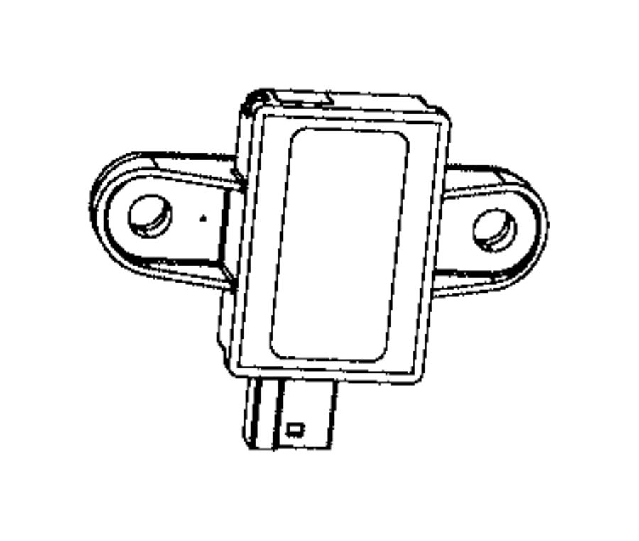 2011 Chrysler Town & Country Sensor. Pressure. Psupp