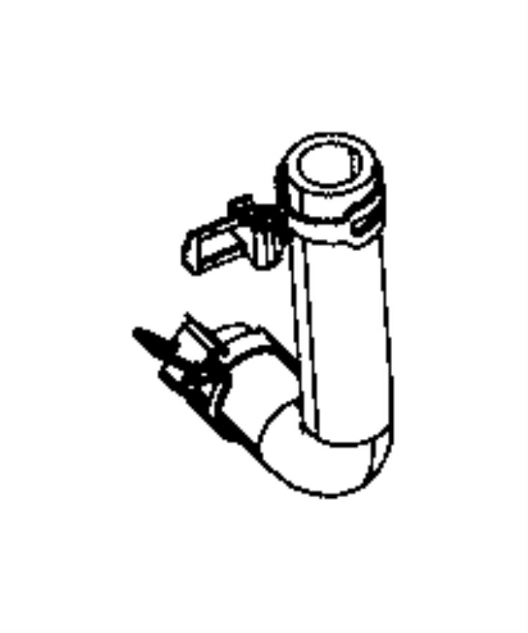 Dodge Challenger Hose. Coolant. Cooling, ltr, system
