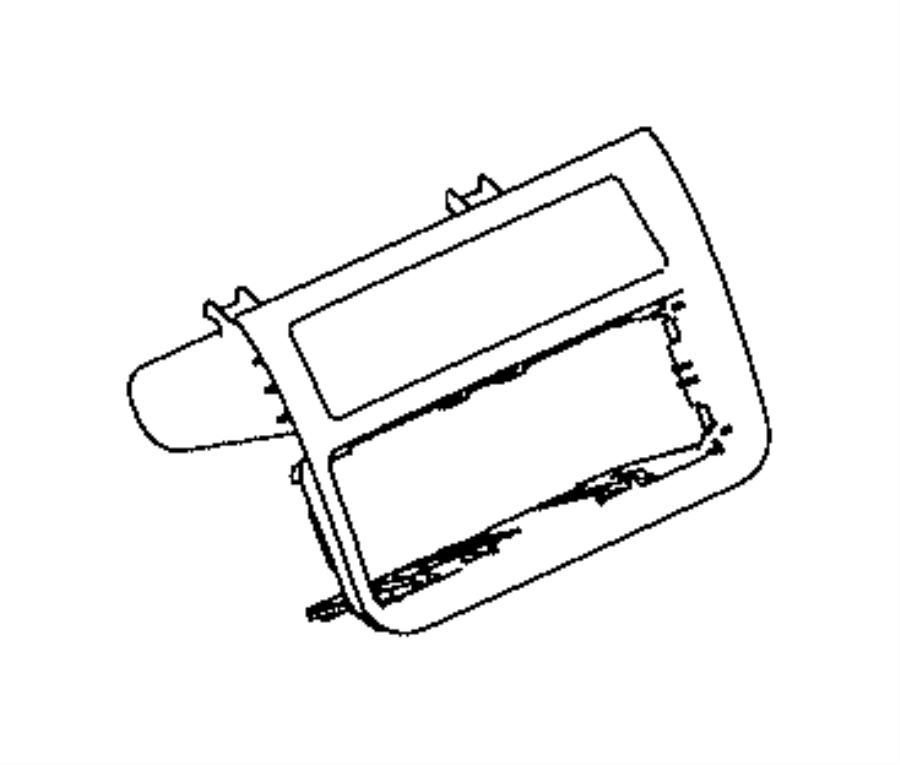 2017 Ram 3500 Bin. Instrument panel. Trim: [no description