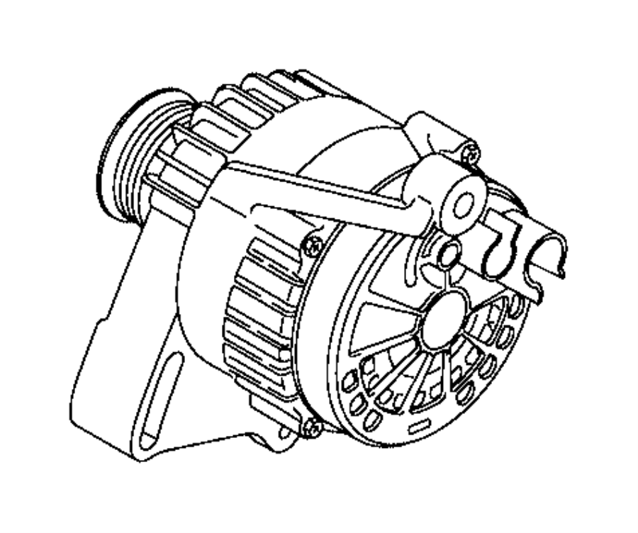 2015 Jeep Renegade Generator. Engine. Air, conditioning