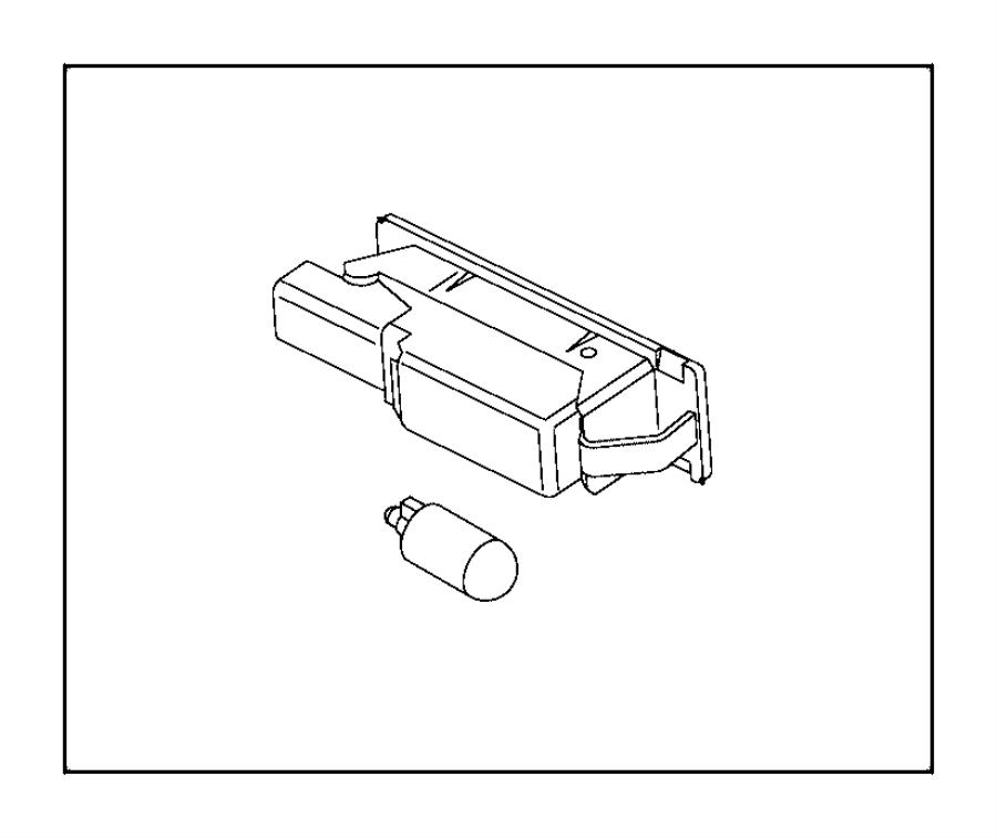 2015 Jeep Renegade Bulb. 12v 5w. Export, us, canada