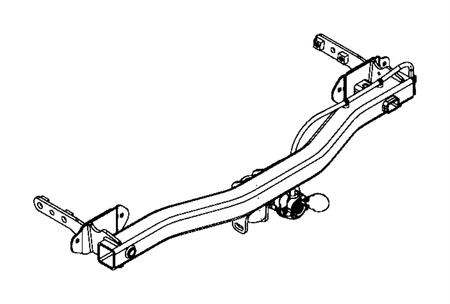 Jeep Renegade Wiring. Trailer tow. Us, canada. Mexico